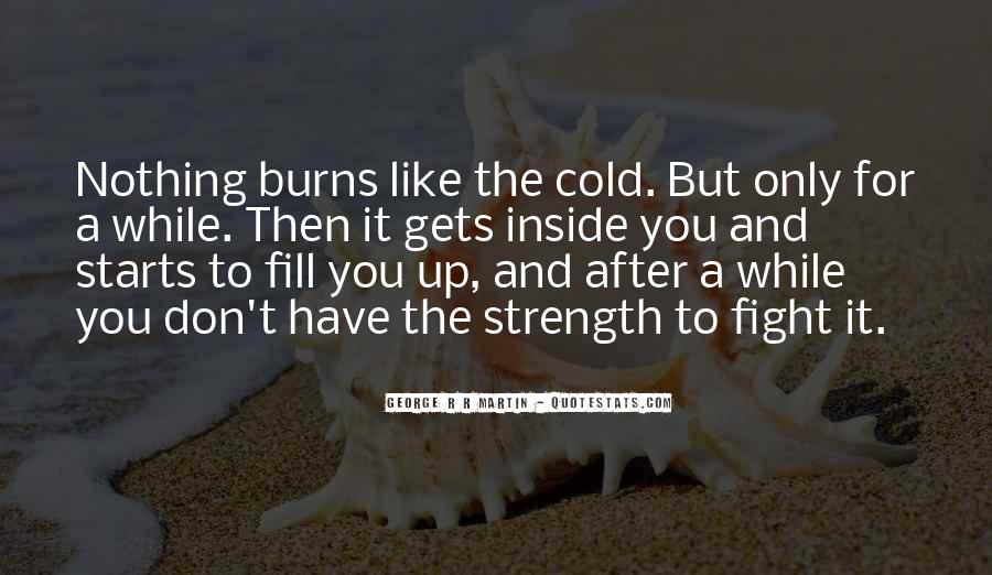 Quotes About Strength To Fight #1664142