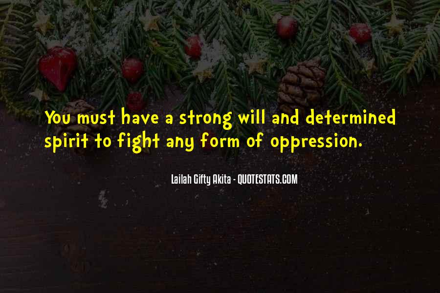 Quotes About Strength To Fight #1731847