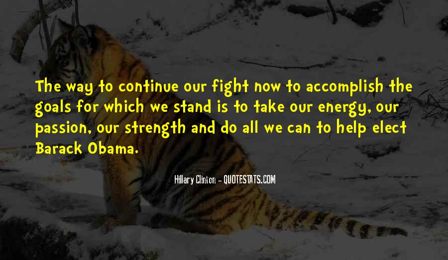 Quotes About Strength To Fight #1733043