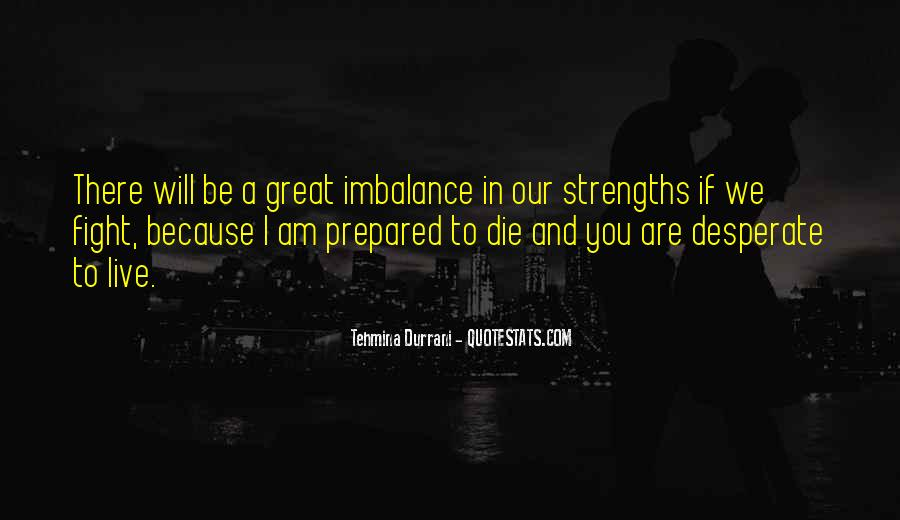 Quotes About Strength To Fight #1752027