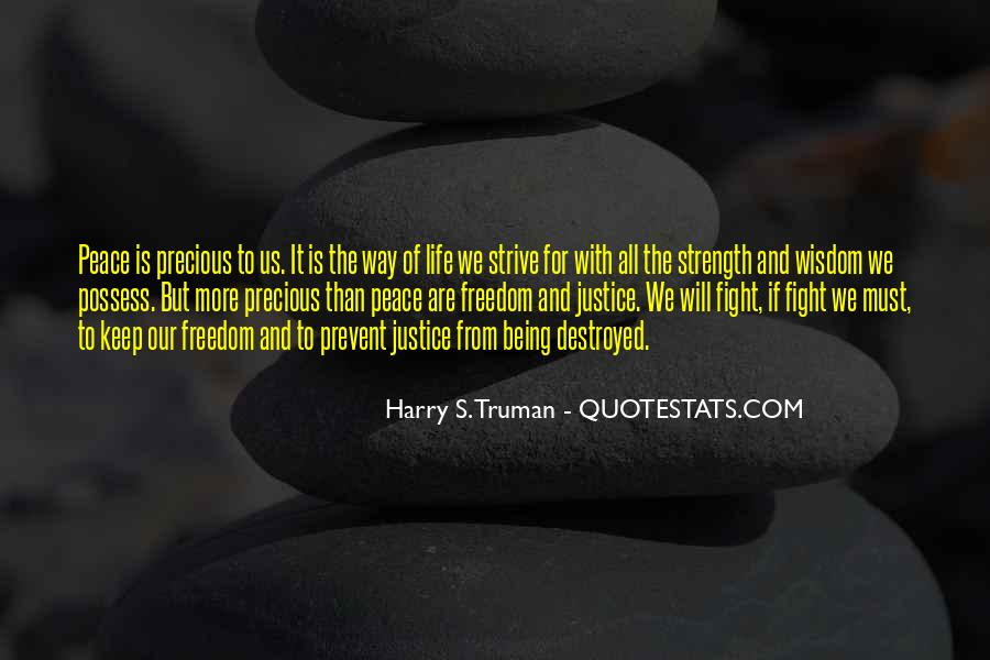 Quotes About Strength To Fight #423295