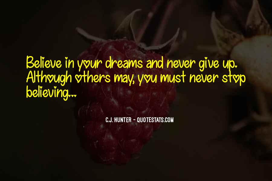 Quotes About Others Believing In You #1047240