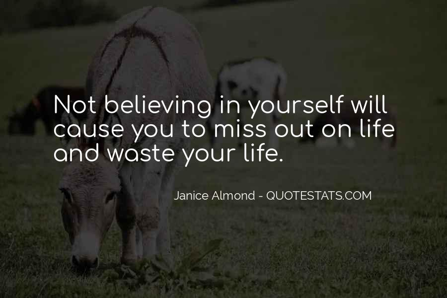 Quotes About Others Believing In You #12889