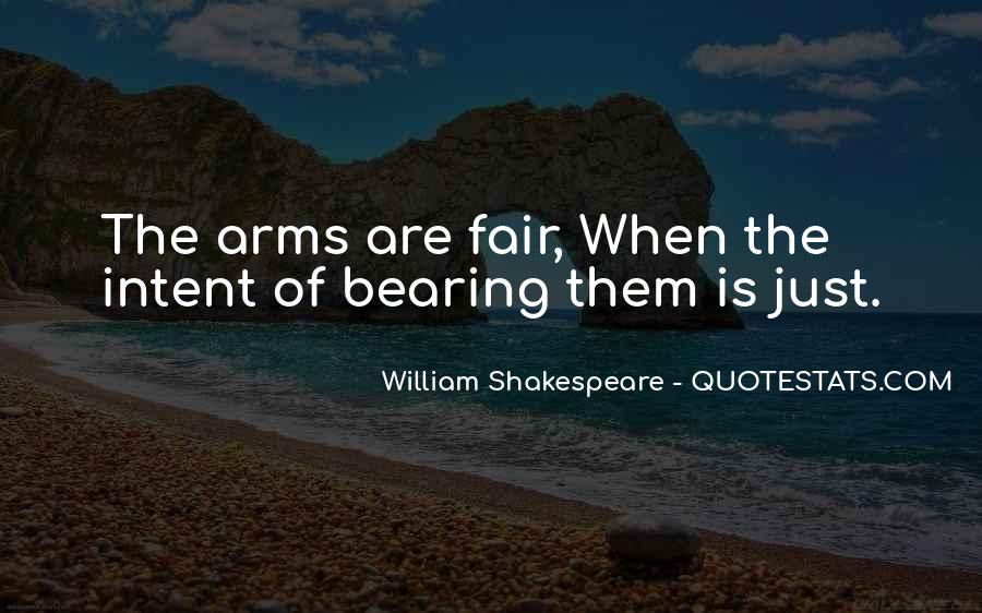 Quotes About Bearing Arms #1208575