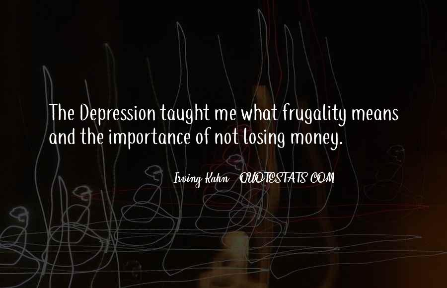 Quotes About Losing Someone To Depression #1328825