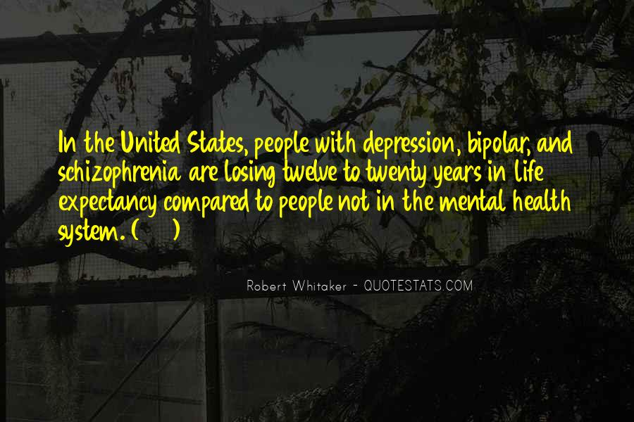Quotes About Losing Someone To Depression #254864