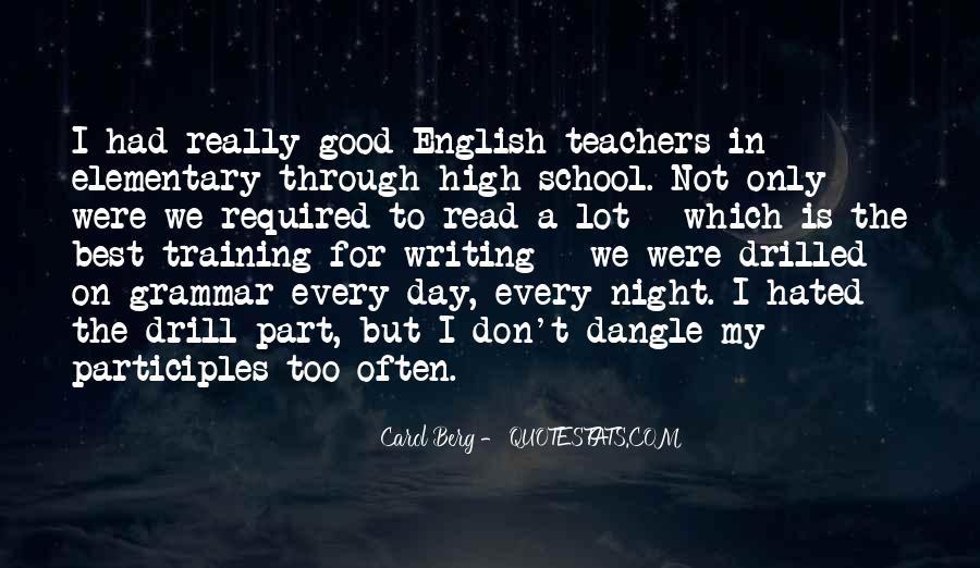 Quotes About Good Grammar #1398842