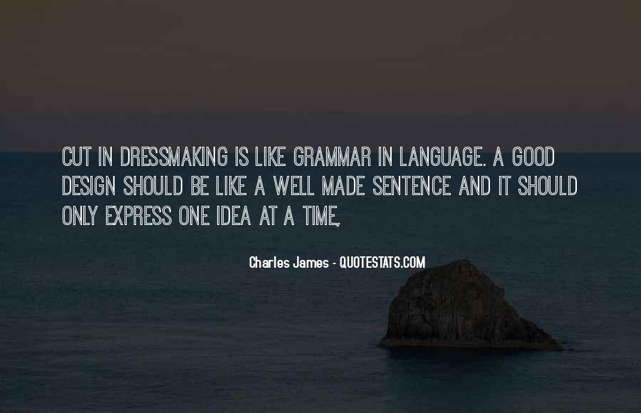 Quotes About Good Grammar #220518