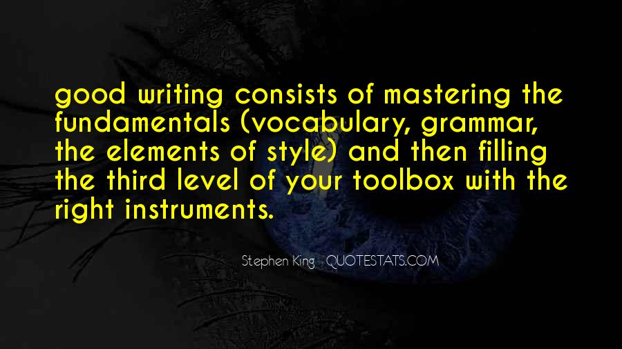 Quotes About Good Grammar #606437