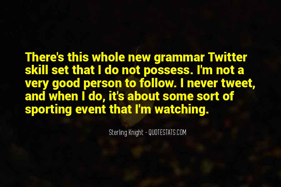 Quotes About Good Grammar #609479