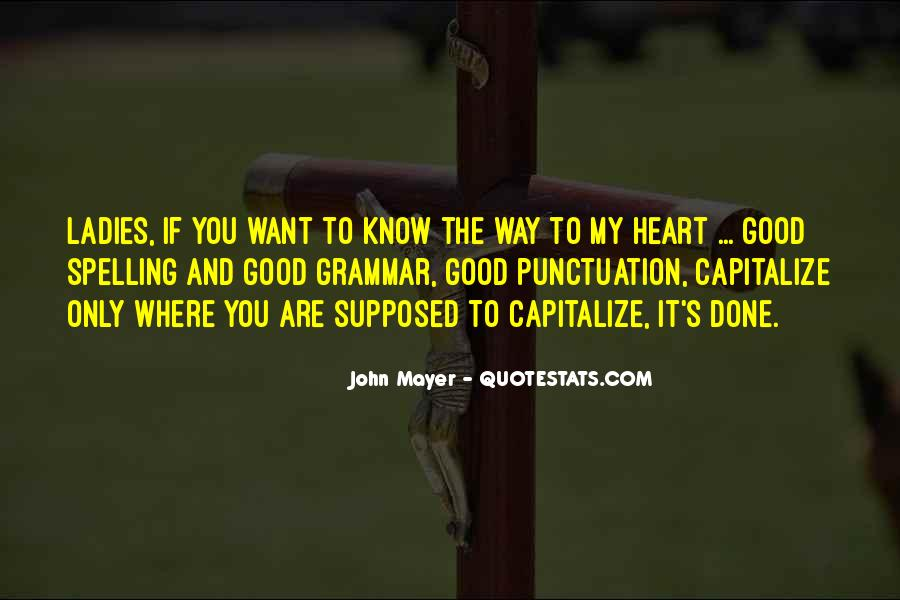 Quotes About Good Grammar #976041