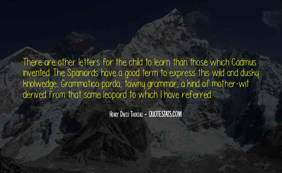 Quotes About Good Grammar #993733