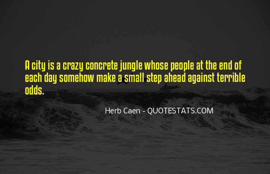 Quotes About The Concrete Jungle #1165545