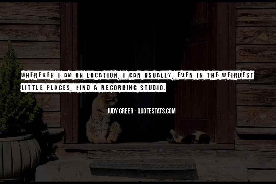 Quotes About Studio #110652