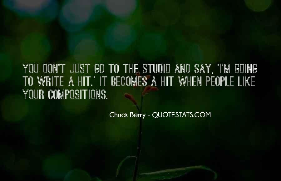 Quotes About Studio #93996