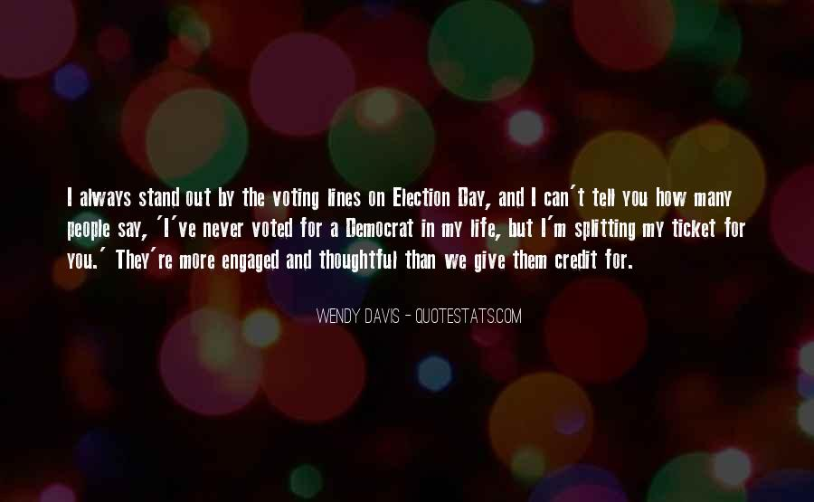 Quotes About Election And Voting #495959