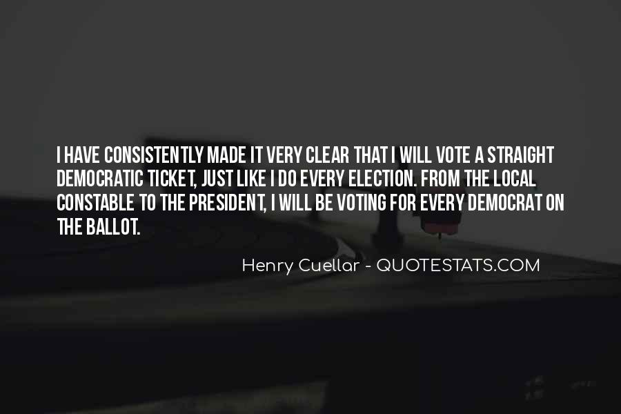 Quotes About Election And Voting #771533