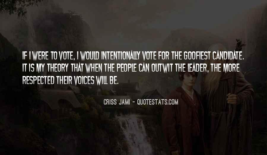 Quotes About Election And Voting #773067