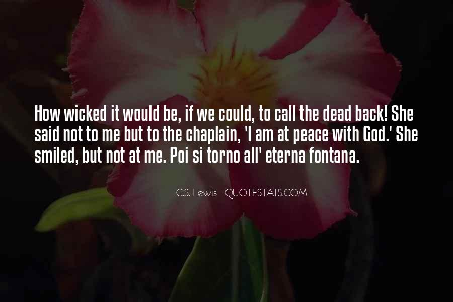 Quotes About Not Loved Back #709793