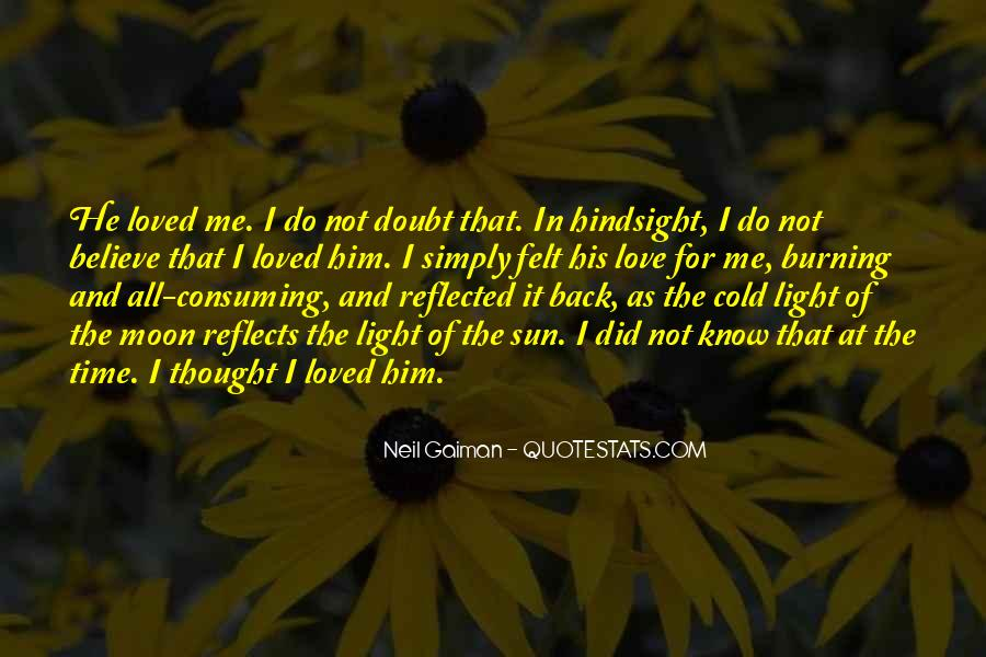 Quotes About Not Loved Back #80446