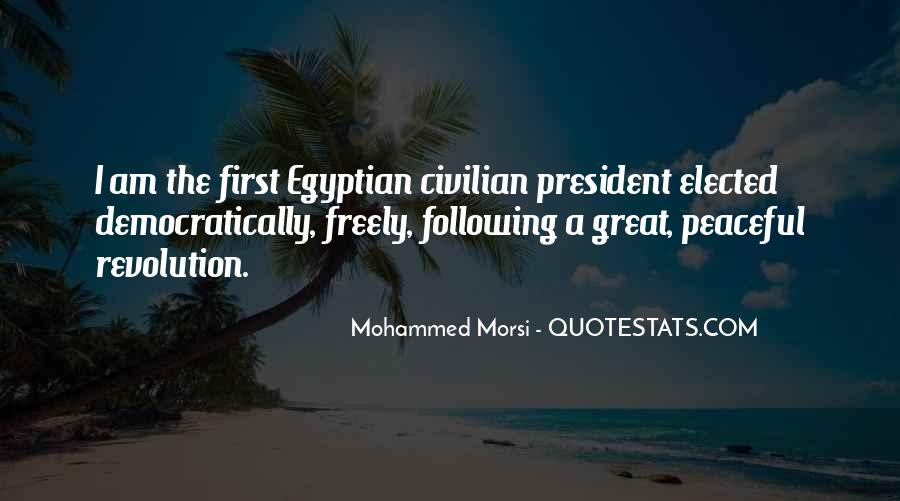 Quotes About Egyptian Revolution #1007454