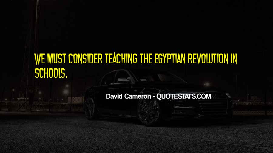Quotes About Egyptian Revolution #1071191