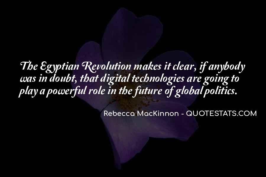 Quotes About Egyptian Revolution #1074454