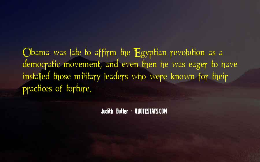 Quotes About Egyptian Revolution #749453