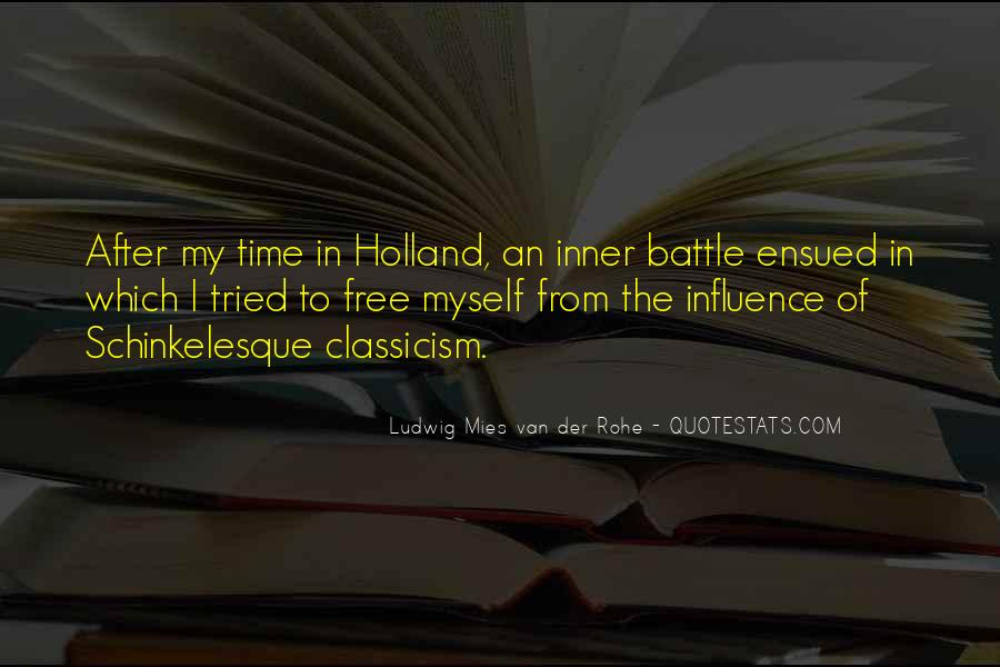 Quotes About Classicism #701482