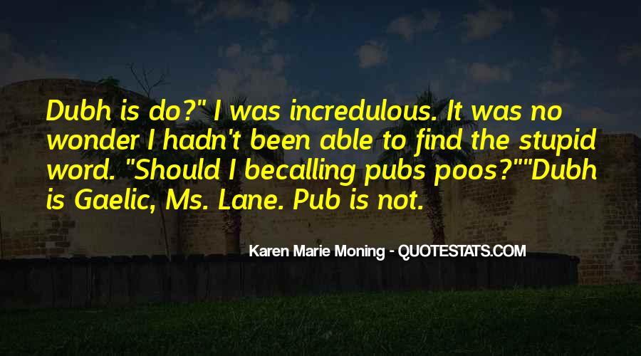Quotes About Pubs #1175804