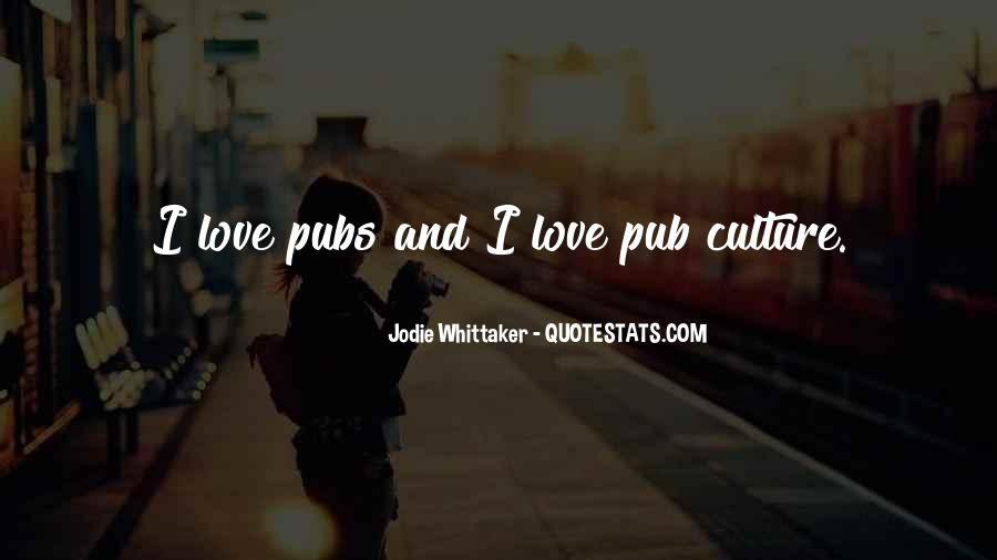 Quotes About Pubs #1758571