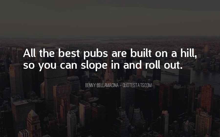 Quotes About Pubs #728211