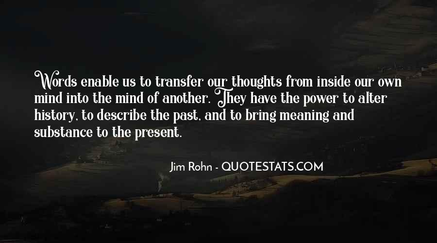 Quotes About Words And Power #107973