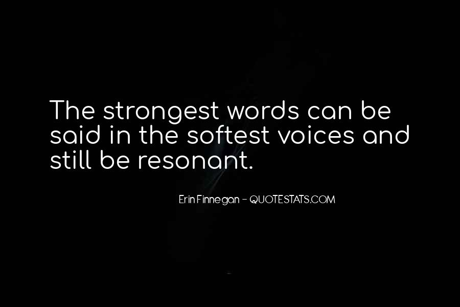 Quotes About Words And Power #109001