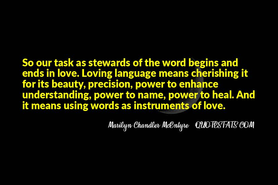 Quotes About Words And Power #113712