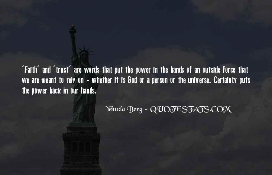 Quotes About Words And Power #13389