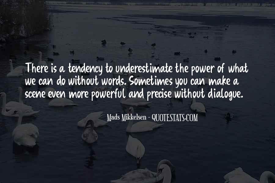Quotes About Words And Power #145005