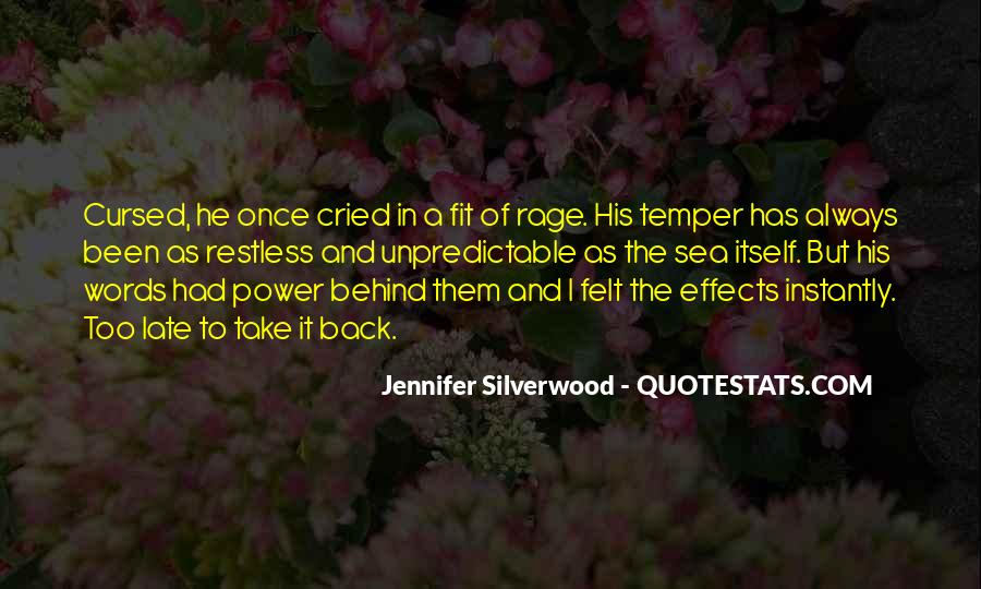 Quotes About Words And Power #149814
