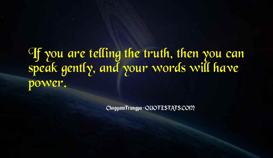 Quotes About Words And Power #154816