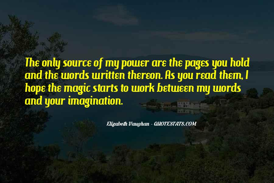Quotes About Words And Power #158912