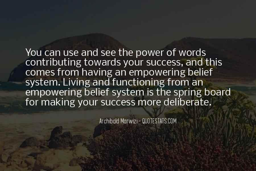 Quotes About Words And Power #169373