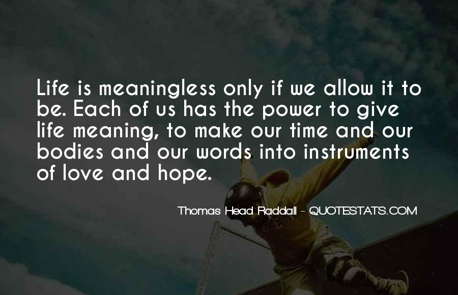 Quotes About Words And Power #198993