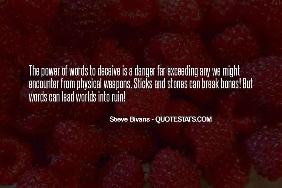 Quotes About Words And Power #216641