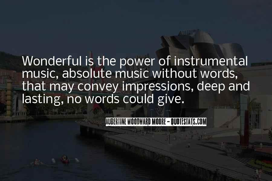 Quotes About Words And Power #219707