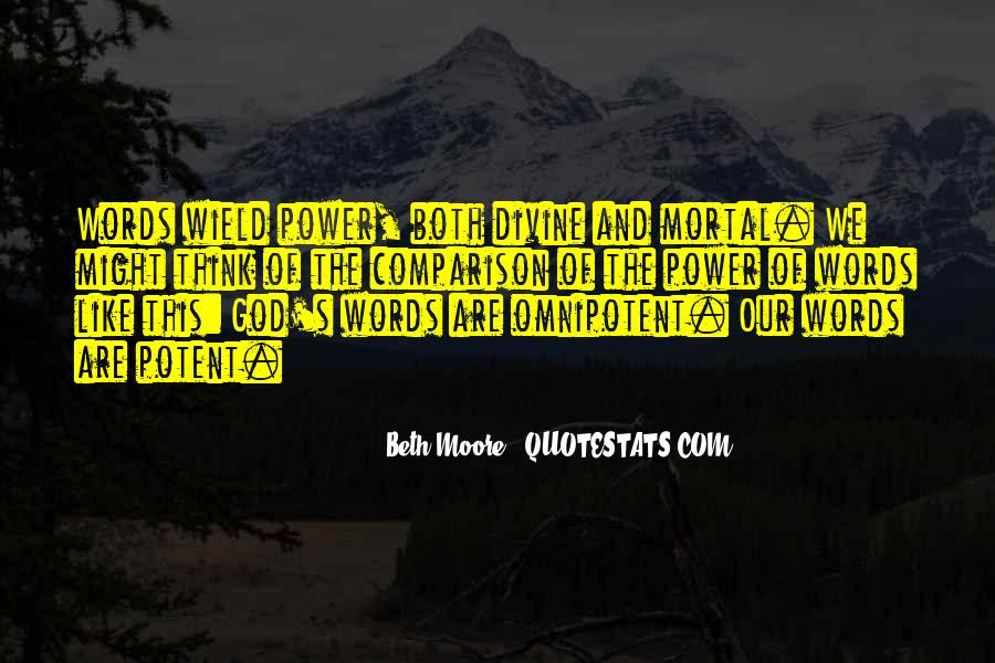 Quotes About Words And Power #260592