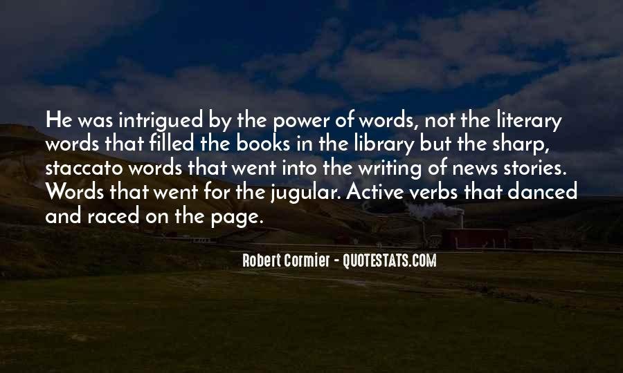 Quotes About Words And Power #277837
