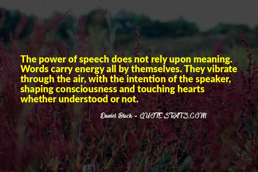 Quotes About Words And Power #306174