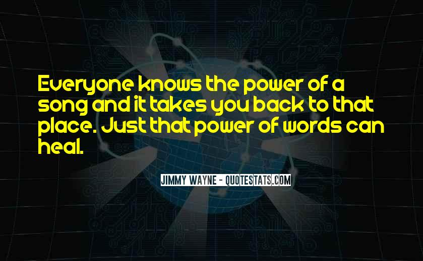 Quotes About Words And Power #308600