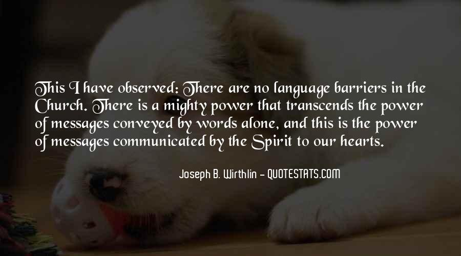Quotes About Words And Power #326449
