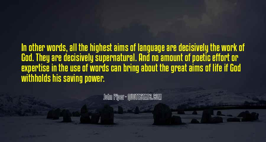 Quotes About Words And Power #330274